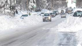 Duluth, Minn. residents dig out after big snowstorm