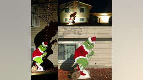 6-foot-tall Grinch decoration stolen from Apple Valley yard