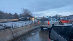 Slippery road conditions lead to 470 crashes across Minnesota