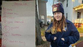 Postal worker surprises family after receiving boy's letter to Santa asking for food, clothing