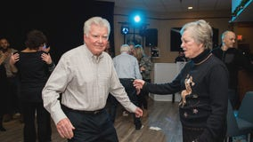 Company throws holiday party with veterans at Hopkins VFW while raising money for veterans causes