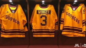 Gophers hockey to wear 'Wooger' jerseys to honor late coach
