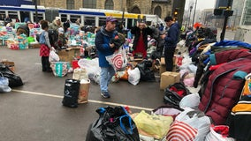 Hundreds bring donations after Drake hotel fire displaces 240 people, including 100 children