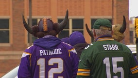 Fans prepare for Vikings-Packers face-off in Minneapolis