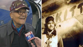 100-year-old Tuskegee Airman from Bethesda flips the coin at Super Bowl LIV
