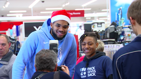 Timberwolves spread holiday cheer with Target shopping spree for kids