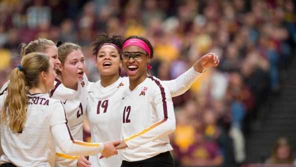 Gophers volleyball defeats Louisville, 3-0, for trip to Final Four