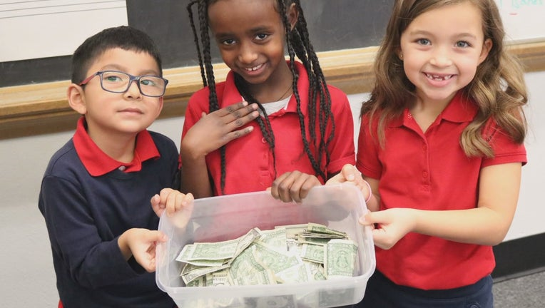Students with money