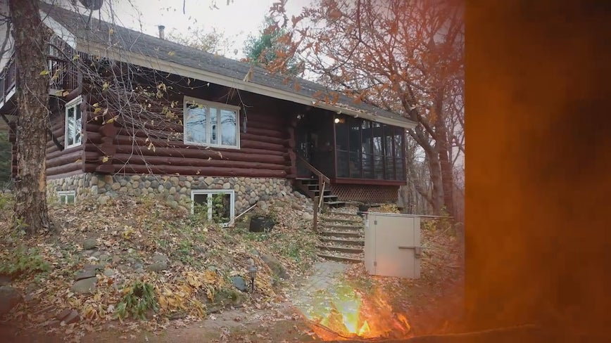 Christmas ornament of house is only item salvaged from North Branch, Minn. fire