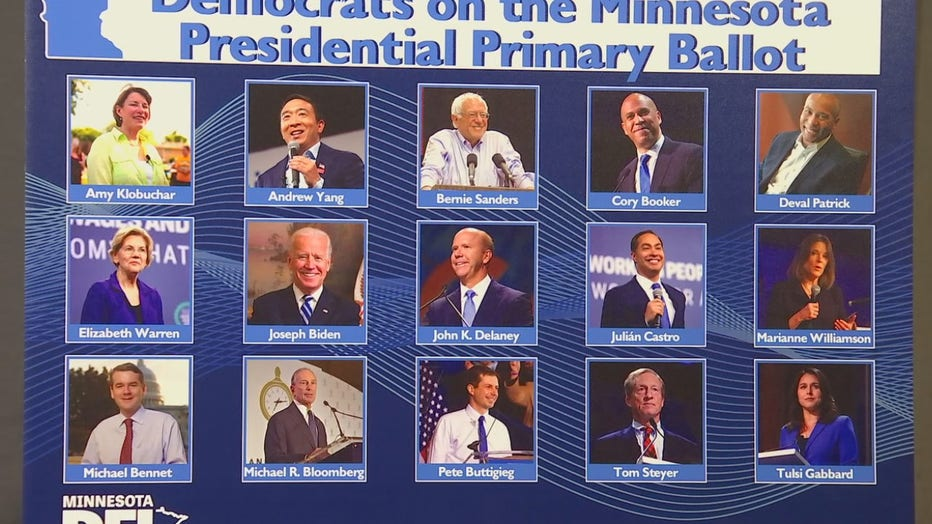 The 15 Democrats that will be on the DFL primary ballot.