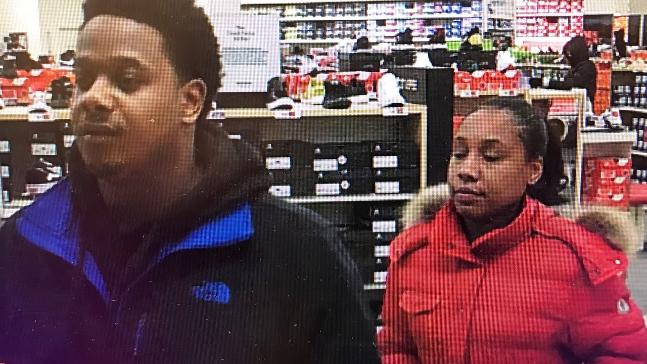 Police Suspects Rob Famous Footwear In