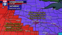 Blizzard Warning in effect for parts of western, southern Minnesota