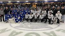 Minnesota Wild surprises peewee hockey teams in Eagan