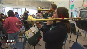 Outback Bowl to feature two local high school marching bands