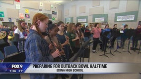 Two Twin Cities marching bands preparing for the big stage