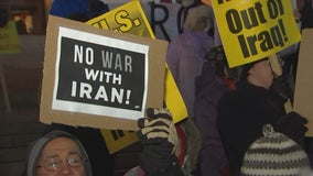 'No war with Iran' rally held in St. Paul as part of nationwide protests