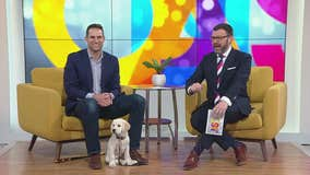 Dr. Eric Ruhland and Butter the puppy answer pet questions