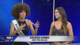 Miss Teen USA winners stop by FOX 9