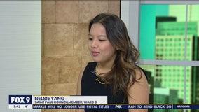 St. Paul city Council member Nelsie Yang stops by FOX 9