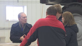 Bloomberg vows to better understand rural America during Minnesota farm visit