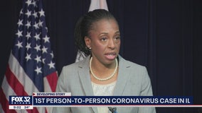 CDC reports 1st case of person-to-person spread of coronavirus in Illinois