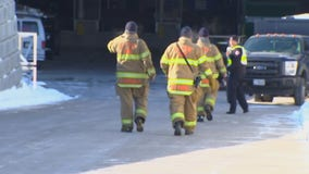 Emergency responders face brutal cold during terror event drill at Allianz Field