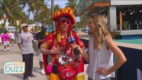 Shayne at the Super Bowl: The fans invade South Beach