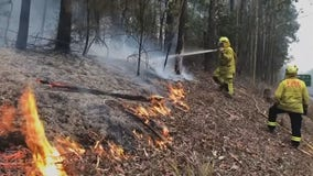 Minnesota firefighters begin emergency deployment in Australia