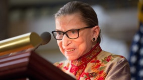 Ruth Bader Ginsburg says she is 'cancer-free' following radiation treatment