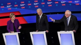 Warren and Sanders spar over alleged claims that Sanders said a woman can't win