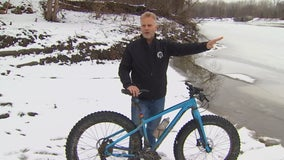 Cyclist saves teen who fell through ice on Minnesota River