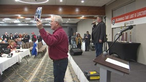 Going, going, won: Auctioneers square off for title in St. Cloud, Minn.
