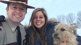 State Patrol sergeant thanked for saving dog in western Minnesota crash