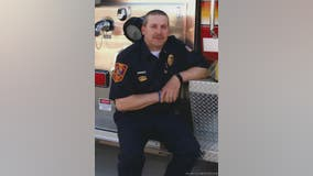 Howard Lake fire chief dies of unexpected heart attack, firefighters pay respects during procession