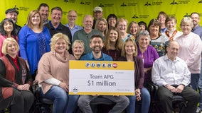 28 co-workers share $1 million Powerball prize in Coon Rapids, Minnesota