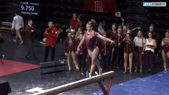 Gophers gymnast scores perfect 10 on balance beam, then makes SportsCenter Top 10