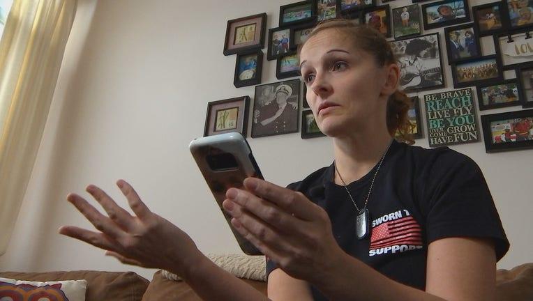 Family member worries for deployed sister
