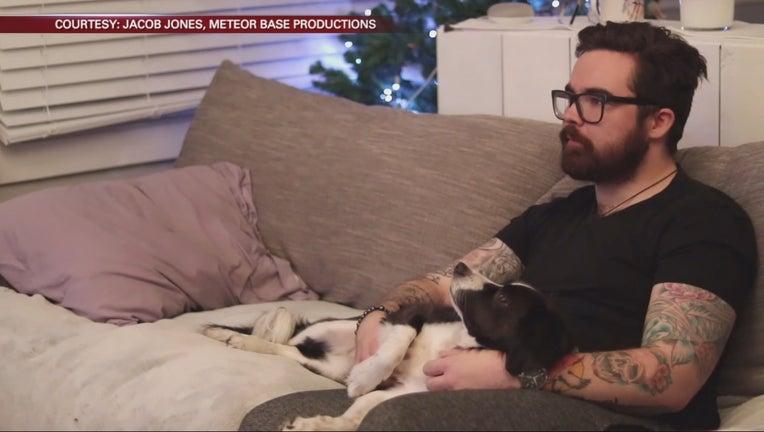 dog adoption music video