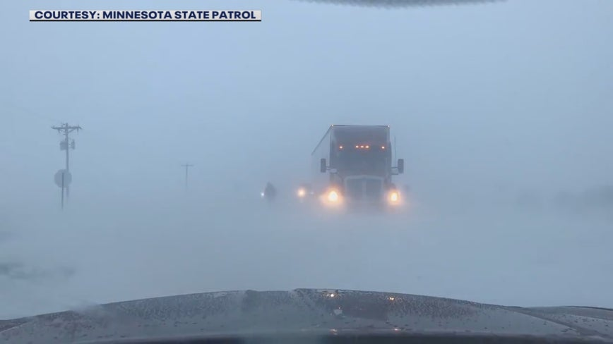 Wind leads to blowing snow and subzero wind chills across Minnesota