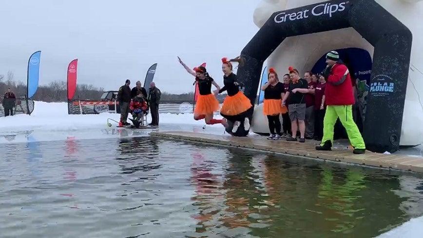 Polar Plunge in White Bear Lake, Minn. raises $210K for Special Olympics