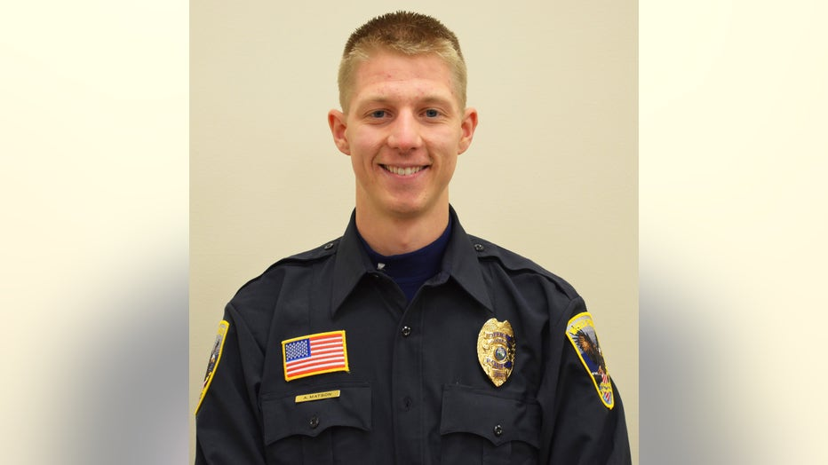 Waseca Police Department Officer Arik Matson
