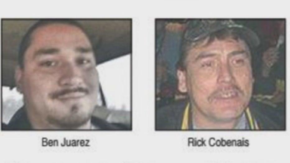 Photos of Ben Juarez and Rick Cobenais