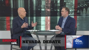 Enough Said: Candidates square off in debate before Nevada Caucus, Roger Stone faces sentence