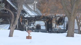 Man dead, 2 teens treated for smoke inhalation after house fire in Andover, Minnesota