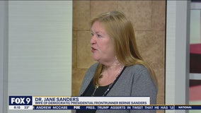 Jane Sanders, Bernie Sanders' wife, stops by FOX 9