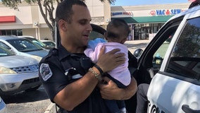 Baby found in locked car as parents shop at Dollar Tree, Florida police say