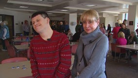 Man with Down Syndrome celebrates 30-year work anniversary at Washington County Government Center