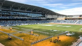 Minnesota United uses heat lamp technology to help melt snow, prepare pitch at Allianz Field