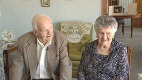 New Brighton, Minnesota couple celebrates 75th wedding anniversary at church where they met