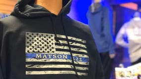 Waseca sports apparel store raises more than $15,000 for Officer Matson's family